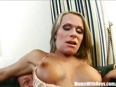Sexy mom vivien in lingerie anal fucked and cum glazed
