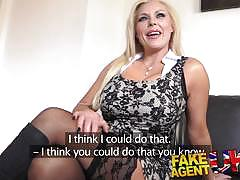 Milf slammed in the clit slit with hard cock