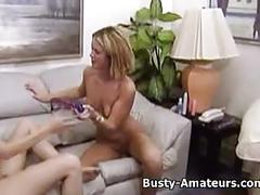 Kira and holly on hot lesbians foreplay