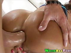 anal, milf, big tits, big ass, brunette