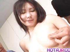 Riho matsuoka is fucked in ass and beaver