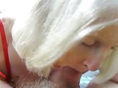 mature, milf, wife, blowjob, outdoors