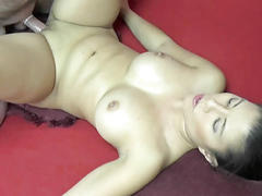 Asian hottie nikko jordan is banging a dude she just met