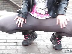 british, public, teen, outdoors