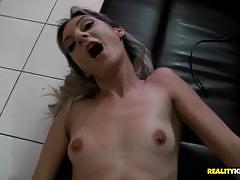 Cute charlene liana picked up fucked and pussy plucked