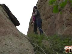 Amazing hiking pov threesome with penny pax and sarah shevon