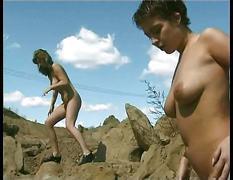 Nudist lesbian girls movie