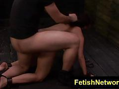 Naughty mena li bdsm slave trained