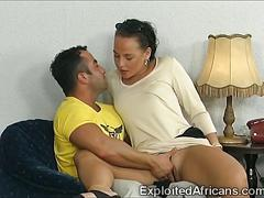 blowjob, interracial, party, babe, sucking, brunette, group