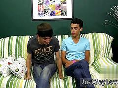 Gay twink giant gangbang movies full length the 2 commence by smooching before dustin