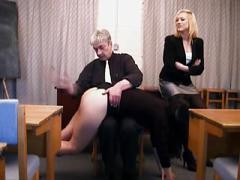 Big bottom spanked