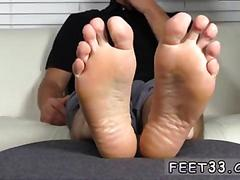 Fucking him with his sensual licks of his feet