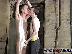 Jerking the fella off and the cock gets to be serviced