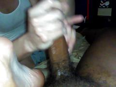 amateur, foot fetish, footjob, handjobs, interracial