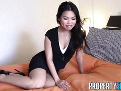 Asian cindy starfall horny for dick