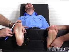 Gay fetish feet sex movies officer christian wilde tickled