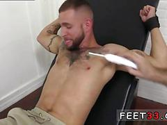 Tickling the dude that loves to get some funny action