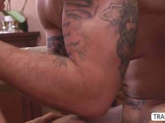 blowjob, masturbation, fucks guy, bareback, cumshot, latina, shemale, tranny