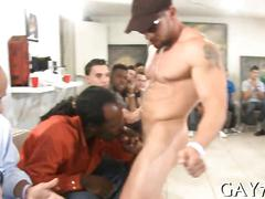 blowjob, hardcore, public, gay, party