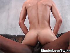 black, interracial, twink, anal, hardcore, hd, masturbation