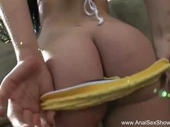 brunette, hardcore, milf, anal, analsexshowcase, ass-fuck, mom, mother, rough, doggy-style, creampie, gape, rimming, cowgirl, big-ass, riding, shaved