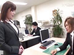 Yui ayana fucks her bosses -uncensored jav-