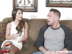Eva lovia fucks her boyfriend's son - naughty america