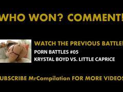 Porn battles #06 - madison ivy vs. mia khalifa