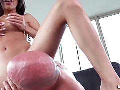 Pussy crammed veronica rodriguez by picked up dude
