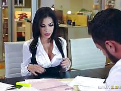 Office pussy banged shay evans