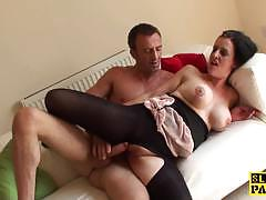 British sub dominated with big dick