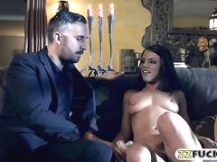 Glamour babe adriana chechik anal banged in many poses