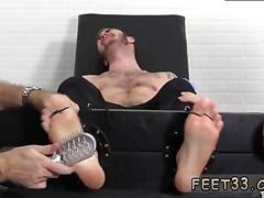bdsm, group, muscle, feet, tattoo, threesome