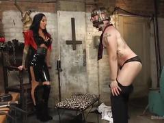 Punishment in her divine dungeon