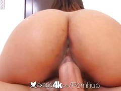 Exotic4k - black and beautiful tiffany tanner oiled up fuck