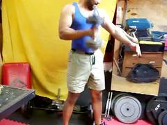 Fuck in sneakers in the gym part 1 - c4s.com(slash)89232 nataliaandarami real interracial couple por