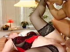 Kira red fucked on the table