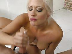 holly heart, big tits, facial, blonde, milf, handjob, oral, pov, tattoos
