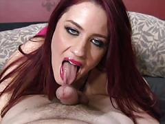 Horny jessica ryan sucks dick