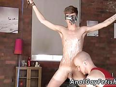Older naked uncut gay kieron knight loves to blow the warm cum blast right from the meat