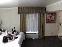 Nympho bff was set up and took the bait-hidden cam at hotel room