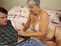 Granny loves hard cock