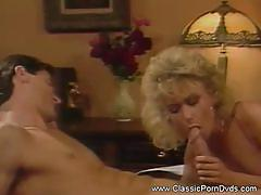 Vintage babe loves cock