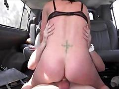 Dick starved amateur hoe riding the sex bus