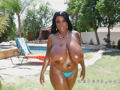 big boobs, black, ebony,