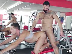 Frustrated dude theo ford fucked jessy ares gay ass for revenge
