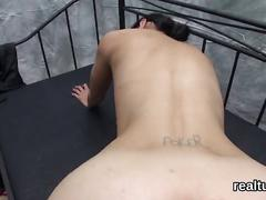 Charming czech kitten is tempted in the hypermarket and fucked in pov