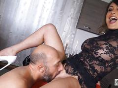 Castingallaitaliana - hardcore pussy and ass fuck with hot italian amateur babe during casting