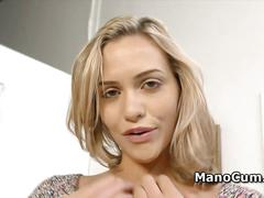 Nympho is looking forward to cumshot in pov