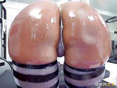 milf, blonde, threesome, anal, big ass, big tits, deepthroat, oiled, big dick, at gym, big wet butts, brazzers network, phoenix marie, ramon nomar, karlo karrera